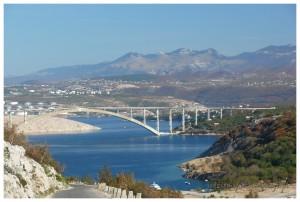 Most na wyspę Krk